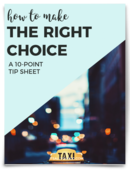 Make the right choice cover