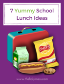 7 fun school lunch ideas cover