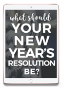 New year's resolution quiz ipad