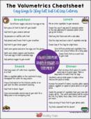 Teh volumetrics cheatsheet pdf image