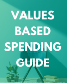 Values based spending
