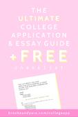 Ultimate college app essay guide