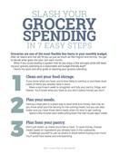 Slash your grocery spending