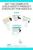 Get the complete child safety product checklist