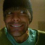 Green hat flipped