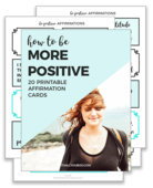 Be more positive affirm preview