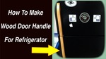 Thumbnail refrigerator door handle