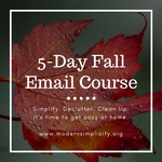 5 day fall email course