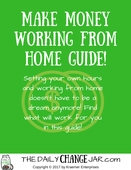 Work from home title page