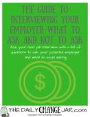 Guide to interviewing an employer title