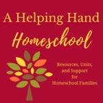 A helping hand homeschool logo