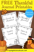 thankful journal printables