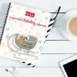 2019 holiday planner mockup 2