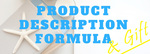 Fta product description formula and gift landing page image