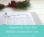 Organizing your best holiday season ever 2017 fb
