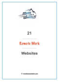 21 remote work websites