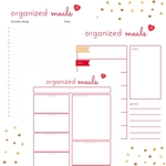 Organized meals square