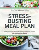 Stress meal plan icon