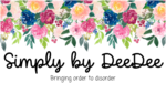 Simply by deedee blog banner