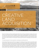 Creative land acquisition