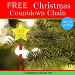 Copy of christmas countdown chain pin