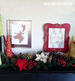 Rustic christmas decor signs