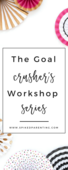 The ultimate goal crusher's workshop series pin 1