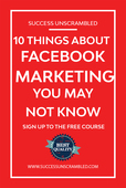 10 things about facebook marketing you may not know