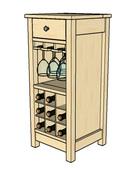 Wine cabinet ck 1