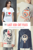 The last jedi cut files and printables preview