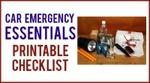 Car emergency essentials printable checklist 200x111