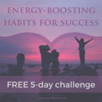 Energy boosting habits for success graphic (no date)
