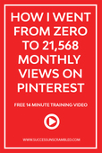 How i went from zero to 21 568 monthly views on pinterest   2
