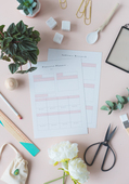 Free printable social media planner for pinterest  fallfordiy 4