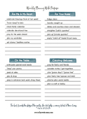 Purposeful planning worksheet filled web