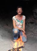 Cathy and fire crop sml