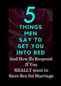 5 things men say