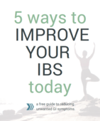 5 ways to reduce ibs icon
