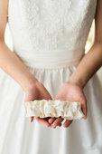 Custom wedding garter the garter girl