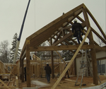 Pine creek house frame