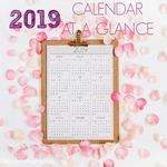 2019 calendar glance