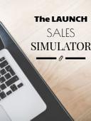 The launch sales simulator optin image
