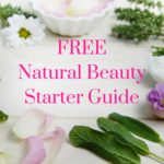 Natural beauty starter guide toxic signup form image