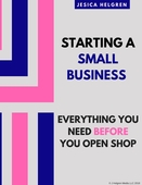 Starting a small business cover