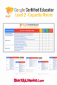 Copy of google certified educator level 2 capacity matrix 2