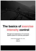 Intensity control