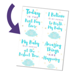 Birth affirmations   small
