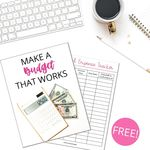 Budgeting basics email course ad images