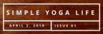 Simple yoga life header