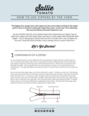 Landing page how to use zippers by the yard